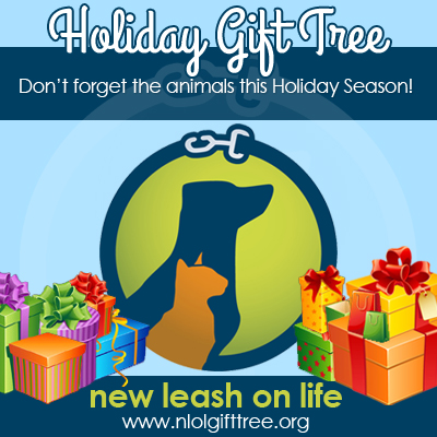 New Leash On Life Holiday Gift Tree